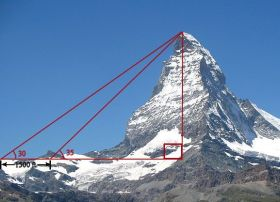 Measuring-height-of-mountain-example-of-triangle